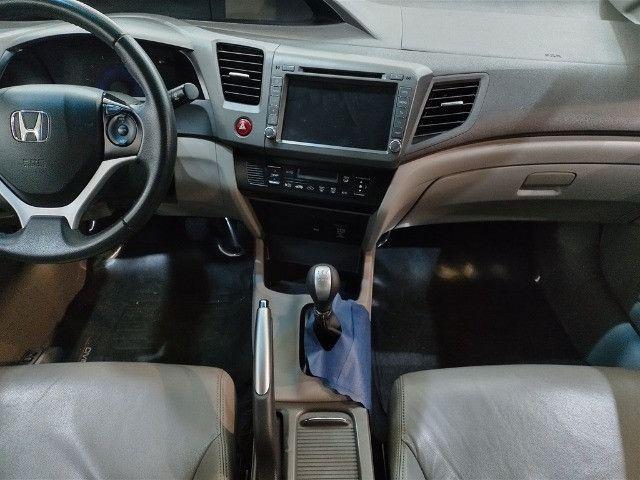 Honda Civic 1.8 LXL 16v Flex 4p Completo C/ Ar Digital - Foto 10