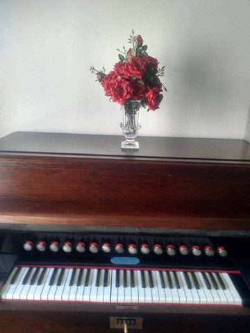 Harmônio-órgão Todeschini - estilo Piano vertical - Foto 5