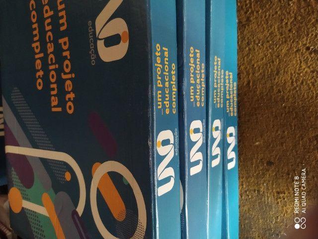 Livros sistema UNO