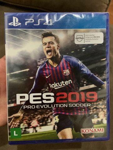 Troco por outros jogos FIFA 19 e PES 2019
