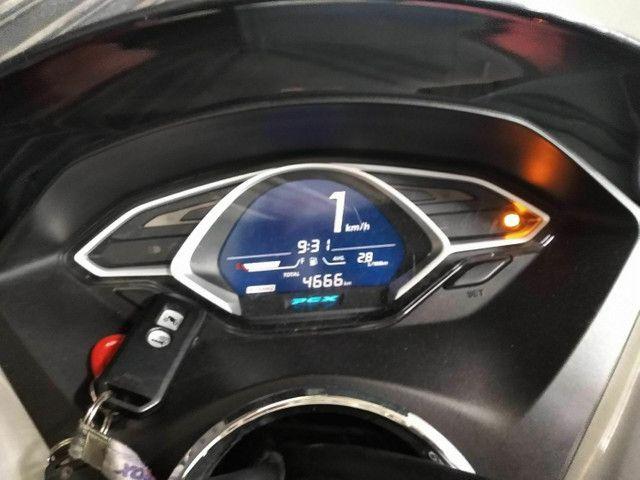 Honda pcx 150 sport vermelho e prata 4milkm - Foto 5