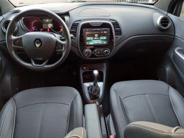 Renault Captur Bose 1.6 câmbio CVT,4.000km,placa B,garantia de fábrica até 2023,impecável! - Foto 11
