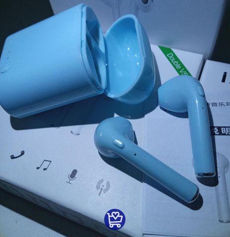 Fone i7s Mini Tws Colorido - Foto 3