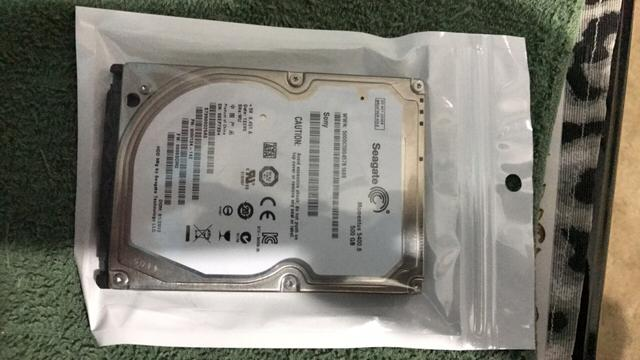 Hd seagate 500 gb notebook