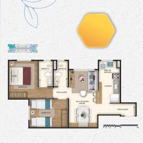 Apartamento à venda com 2 dormitórios em Salgado filho, Belo horizonte cod:2109 - Foto 10