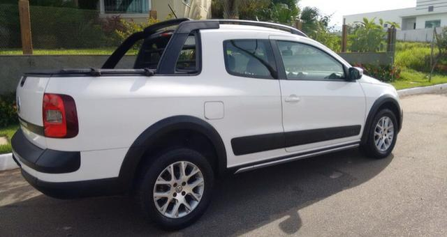 volkswagen saveiro 1.6 16v cross cab. dupla total flex - 2015