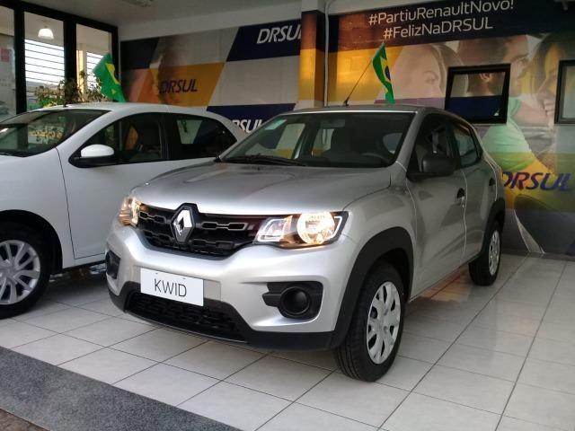 Renault Kwid Life Sce 12v 1.0 + Pintura Metálica 0KM - Foto 2