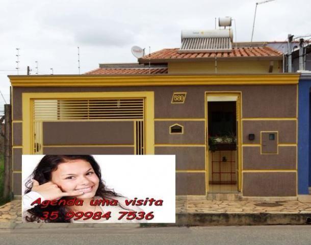 Casa, em Pouso Alegre ,vila Mariosa, 3 quartos