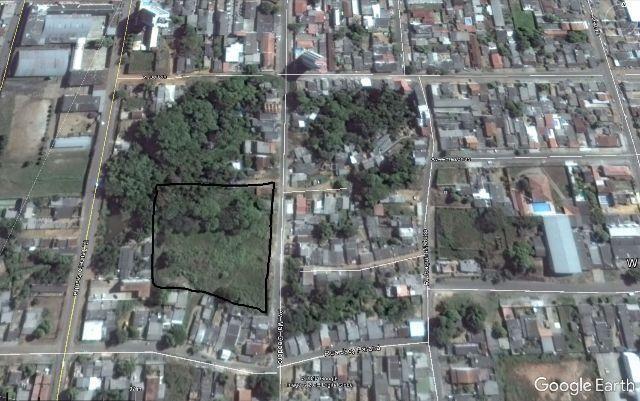 Terreno / Lote / Área na Av Marechal Deodoro com 9000 m2 próximo ao centro de Porto Velho
