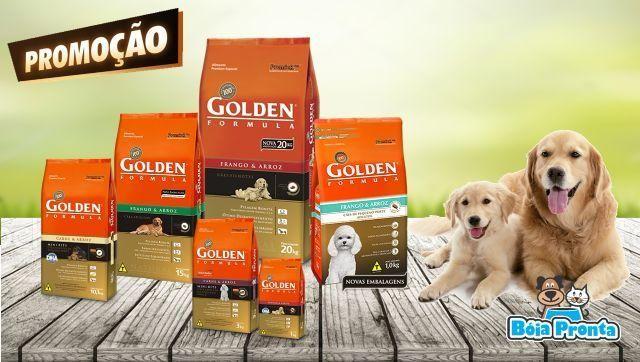 Ração Golden Cão a partir de R14,50