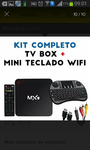 Tv box para qualquer tipo de tv inclusive de tubo vendo ou troco por moto g2