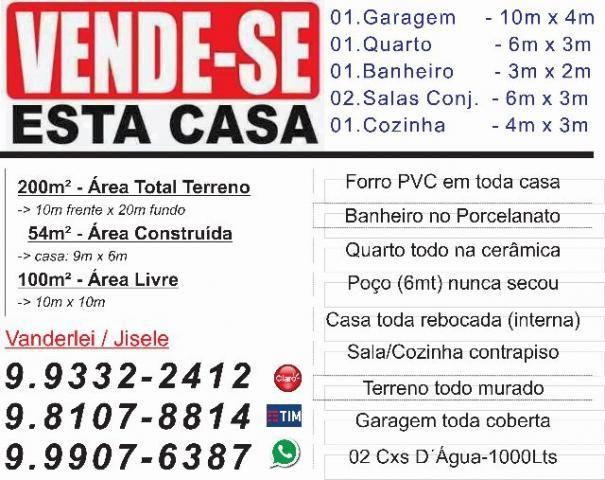 CASA-Z.Sul_Vende/Troca)Ágio 30.000