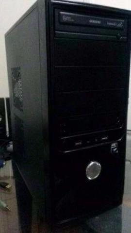 Cpu Gamer Lenovo Pc Quad Core Phenon 2.30 ghz 4gb Placa Video Entrego Parcelo Computador