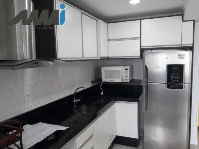 Apartamento 3 dormitórios mobiliado - Quadra Mar Navegantes