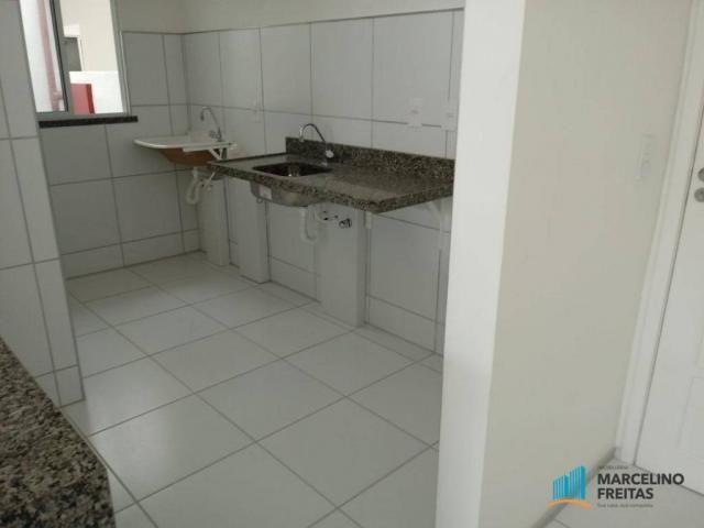 Apartamento residencial para locação, Prefeito José Walter, Fortaleza. - Foto 17