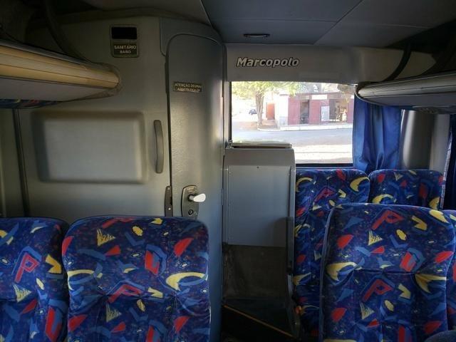 Onibus marcopolo g6 mercedes 0500m modelo 2008 - Foto 12