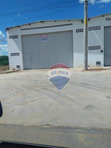 Galpão de 400 m² no Distrito industrial de Petrolina