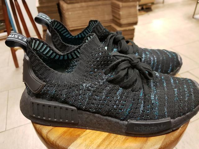 cheaper 0c7ad be1ab Adidas parley nmd r1 stlt parle primeknit tamanho 40 (par único) (Tel *)