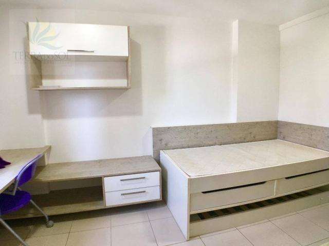 Apartamento com 3 dormitórios à venda, 149 m² por R$ 875.000 - Guararapes - Fortaleza/CE - Foto 13