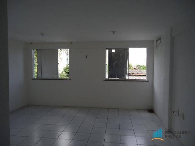 Apartamento com 1 dormitório para alugar, 50 m² por R$ 609,00/mês - Centro - Fortaleza/CE - Foto 2