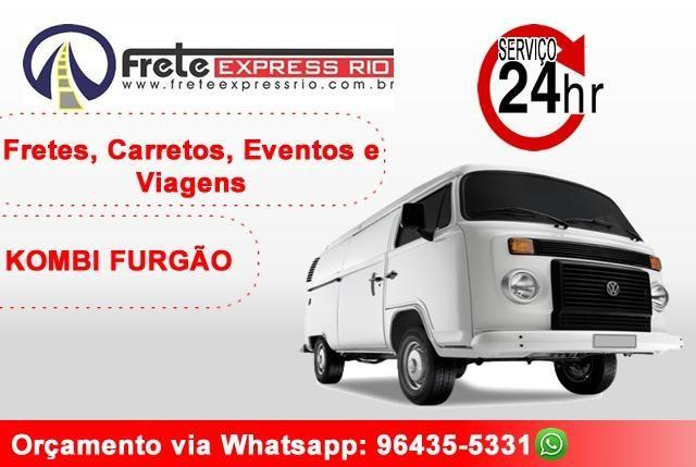 Fretes, Carretos, Rotas de Entrega, Transporte para eventos / Kombi Furgão / 24h