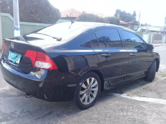Civic 2011 LXL automatico top de linha baixa km - Foto 10