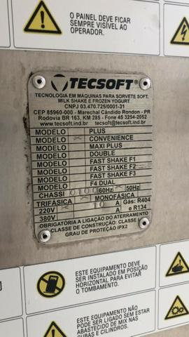 Máquina Tecsoft Produtora de Sorvete Soft Com Um Sabor - Açaí - Modelo Trifásico - 220 V - Foto 5