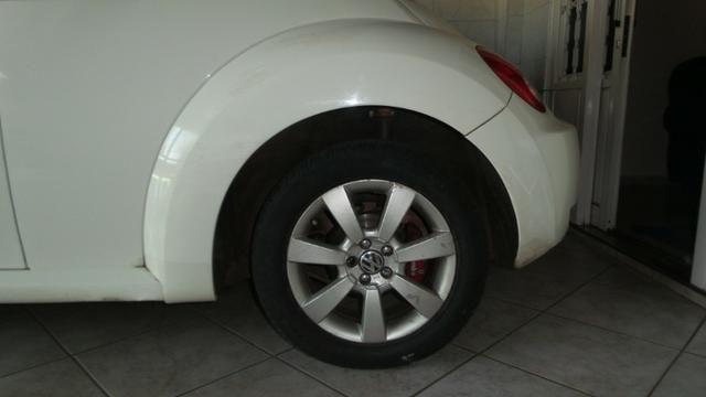 VW- New Beetle 2.0 Cor Branco Com Teto Solar Ano 2006/2007 - Foto 7