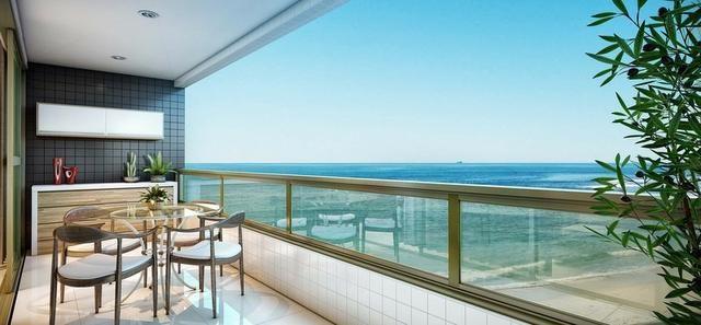 Jacarecica - Apartamento beira mar com 3 suítes - Foto 18