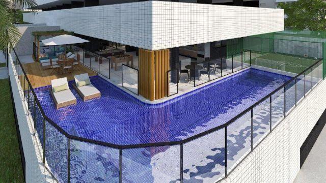 Apto quarto/sala com área de lazer Corais do Mar - Foto 5