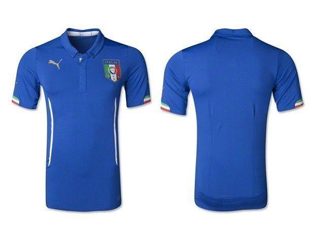 30d3eaf183 Camisa Itália Oficial I 2014 - Copa do Mundo Brasil - Esportes e ...