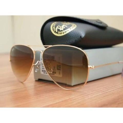 c719c3a681b93 Óculos Rayban Aviador - Original - Polarizado - Bijouterias ...