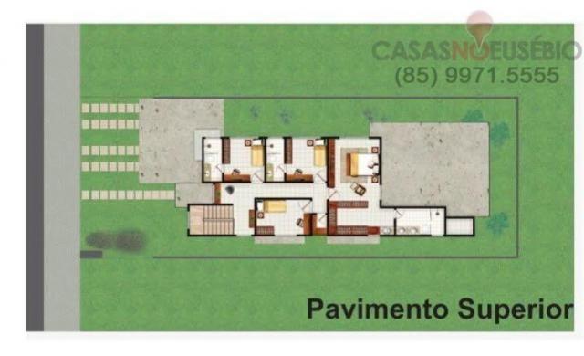 Casa duplex finalizando acabamento no alphaville terras 248 metros, 4 vagas, - Foto 5