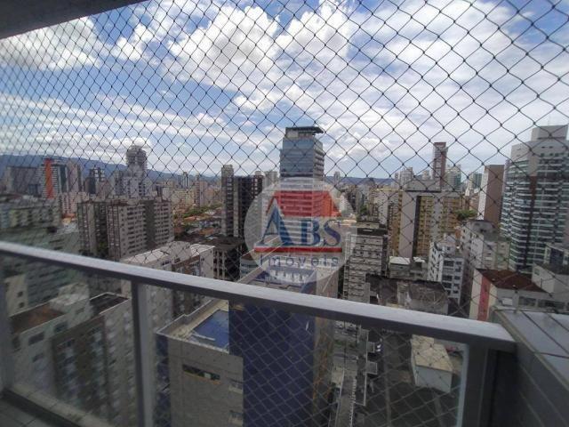 Apartamento com 2 dormitórios para alugar, 80 m² por R$ 3.500,00/mês - Gonzaga - Santos/SP