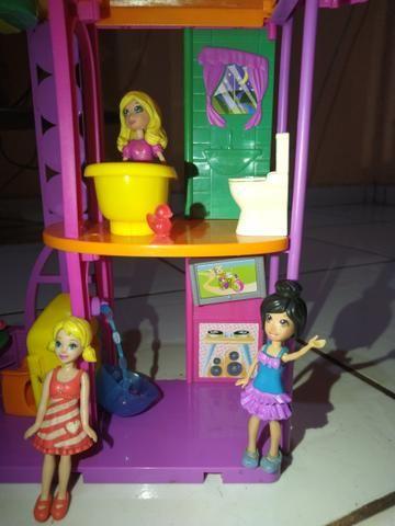 Casa da polly, fazenda, carro, piscina e helicóptero