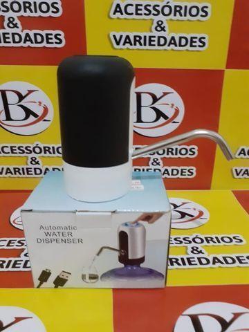 Bomba de água Elétrica para garrafão de 20L -Aceitamos Cartão de Crédito - Foto 3