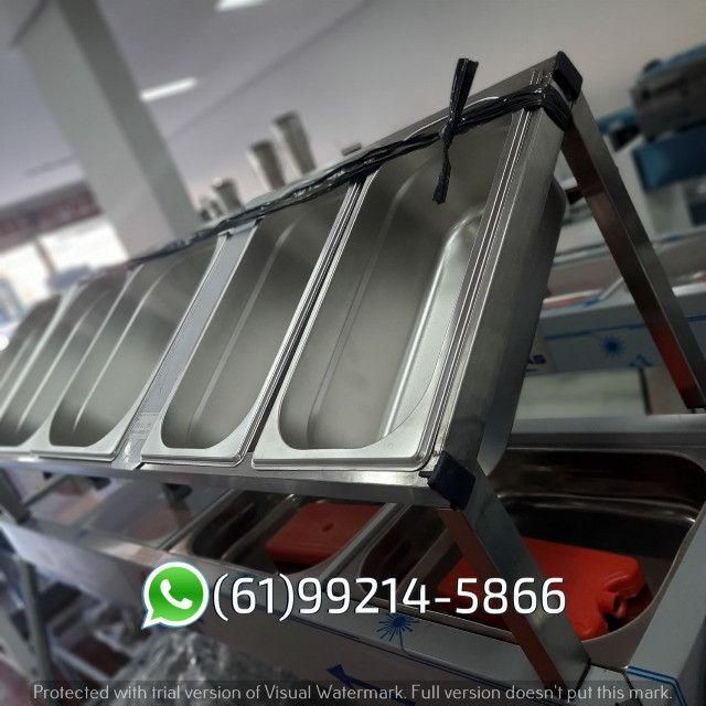 Condimentadora 5 cubas Inox Kit Pizzaiolo Italinox - Foto 5