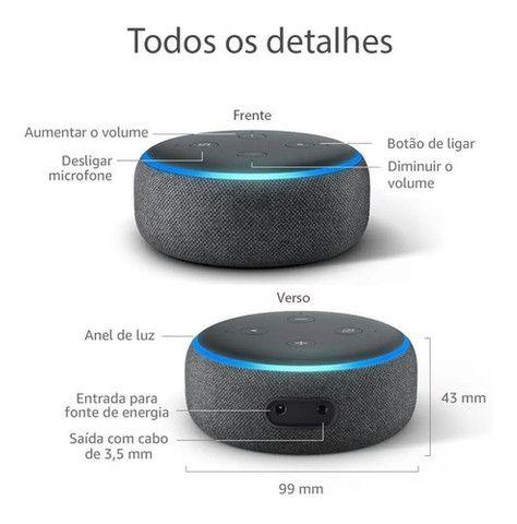Echo Dot Amazon 3ª Geração Smart Speaker Com Alexa Wi-Fi - Foto 4