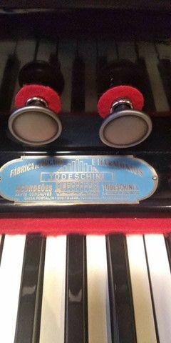 Harmônio-órgão Todeschini - estilo Piano vertical - Foto 4