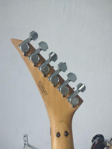 O F E R T A!!! Guitarra Giannini Trilogy anos 90. Aceito trocas e cartão de crédito  - Foto 3