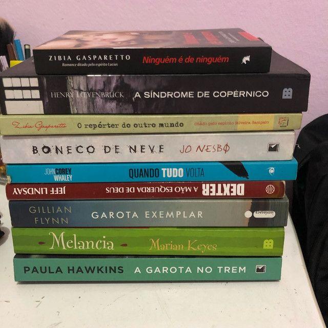 Livros novos e semi novos