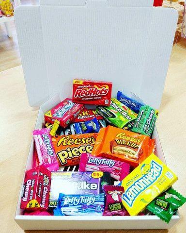 (R$ 120,00) Caixa surpresa de doces e snacks americanos (EUA) variados - Foto 2