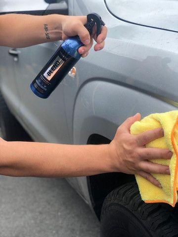 Cera Líquida de Carnaúba Sílica Spray Wax Blend Black 500ml Vonixx - Foto 2