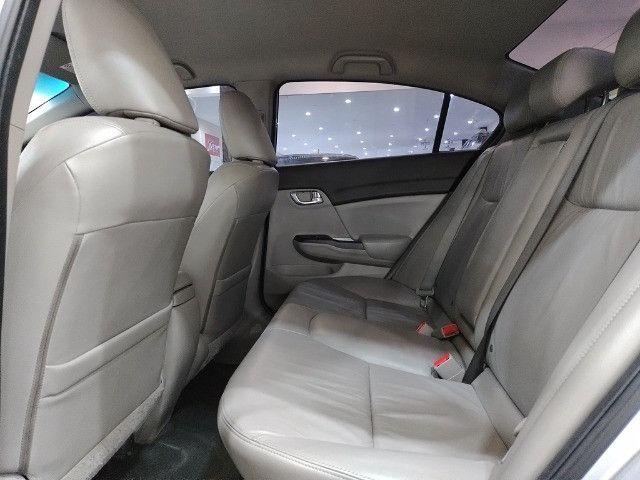 Honda Civic 1.8 LXL 16v Flex 4p Completo C/ Ar Digital - Foto 13