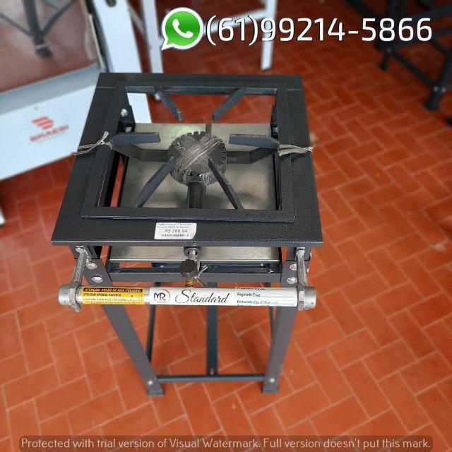 Fogão 1 Boca AP Standard Alta Pressão 30x30 Perfil 5 Industrial MR Fogões - Foto 2