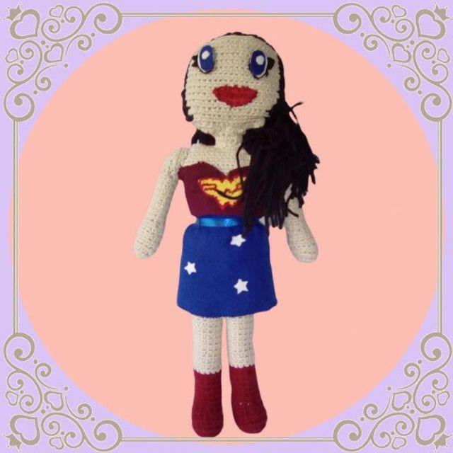 Boneca em Crochê Y.A.M Artesanato