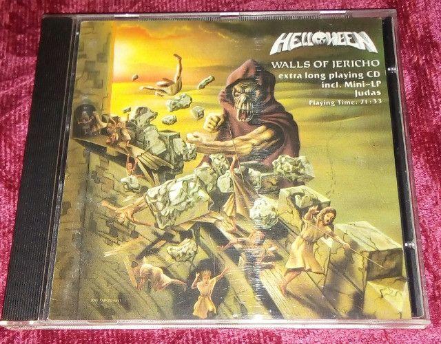 Helloween Walls of Jericho(alemão) & Shaman (Ritual & Reason)