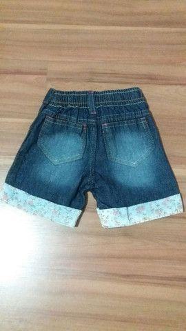 Bermuda Jeans Infantil Nova - Foto 2