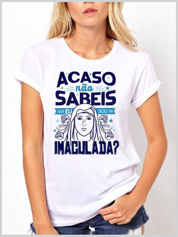 Camiseta em algodão + serigrafia : temática Católica  - Foto 4