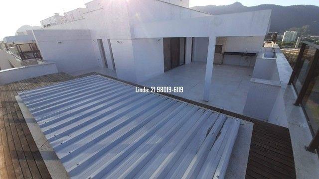 Cobertura no Ilha Pura, 3 quartos, 281m, piscina, sauna, churrasqueira, vista lagoa/mar - Foto 18